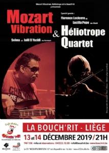 Mozart Vibration ET Héliotrope Quartet