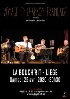 Voyage en Chanson française   - SPECTACLE REPORTE